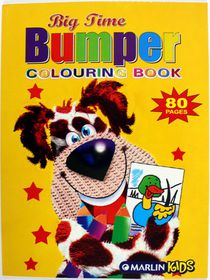 Marlin Kids Big-Time Bumper 80 Page Colouring Book