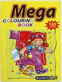 Marlin Kids Mega 120 Page Colouring Book