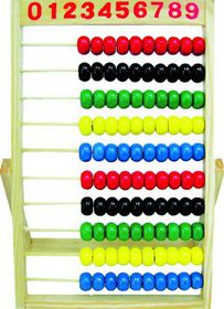 Marlin Kids Wooden Frame Abacus 100 Beads