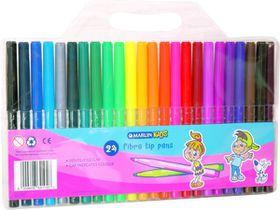 Marlin Kids 24 Fibre Tip Pens