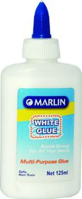 Marlin White Craft Glue 125ml Multi Purpose
