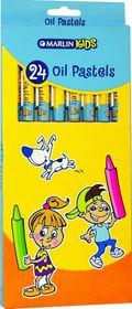 Marlin Kids 24 Oil Pastels