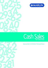 Marlin A5 Duplicate Pen Carbon Book - Cash Sales