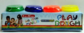 Marlin Kids Play Dough 4 Tubs