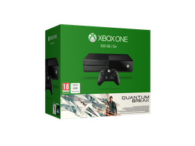 500GB Xbox One Console Black + Quantum Break (Xbox One)