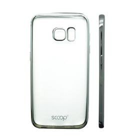 Scoop Lunar Case for Samsung S7 Edge - Silver
