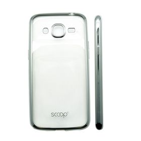 Scoop Lunar Case for Samsung J2 - Silver