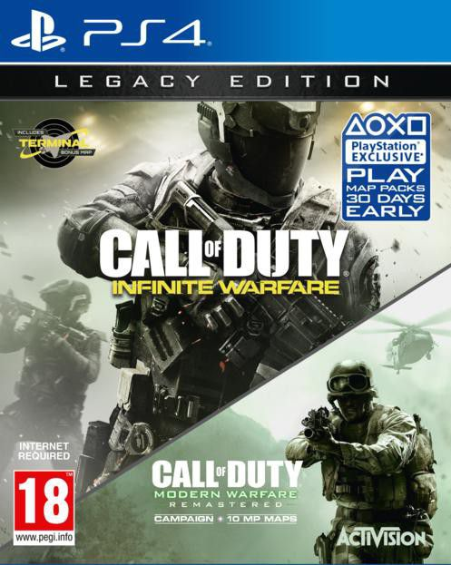 Call of Duty®: Infinite Warfare - Legacy Edition on PS4 ...