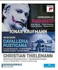 Jonas Kaufmann - Mascagni: Cavalleria Rusticana - Leoncavallo: Pagliacci (Blu-Ray)