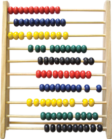 Butterfly Abacus 100 Beads Wooden