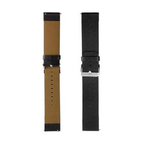 Tuff-Luv Fitbit Blaze Genuine Leather Strap / Wristband - Black