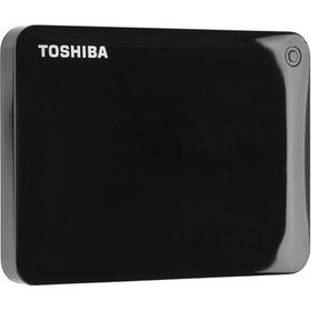 Toshiba Canvio Connect II 1TB USB 3.0 External Hard Drive - Black