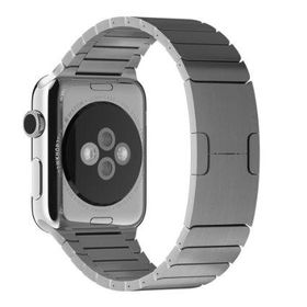 Stainless Steel Metal Link strap for apple watch- 38mm Silver