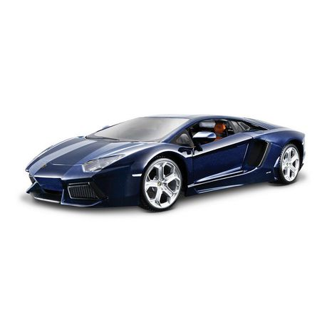 Bburago 1 18 Lamborghini Aventador Lp700 4 Blue Buy Online In