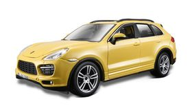 Bburago 1/24 Porsche Cayenne Turbo - Yellow