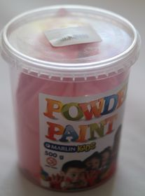 Marlin Kids Powder Paint 500g Bucket - Red
