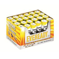 Eveready Platinum AA batteries - Tray of 24