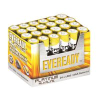 Eveready Platinum AAA batteries Tray of 24