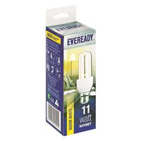 Eveready Energy Saving Lamp 11W Warm White (Bayonet)(Pack of 5)