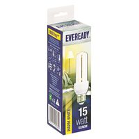 Eveready Energy Saving Lamp 15W Warm White (Screw)(Pack of 5)