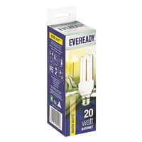 Eveready Energy Saving Lamp 20W Warm White (Bayonet)(Pack of 5)