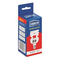 Eveready Energy Saving Lamp 8W Spiral Warm White (SES Screw)(Pack of 5)