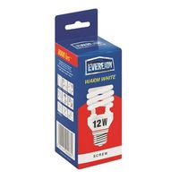 Eveready Energy Saving Lamp 12W Spiral Warm White (Screw)(Pack of 5)
