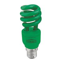 Eveready Energy Saving Lamp 12W Spiral Green (Bayonet)(Pack of 5)