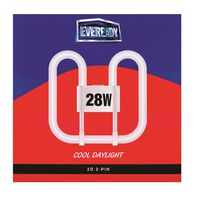 Eveready Flourescent Tube 28W 2D (2 pin)(Pack of 2)
