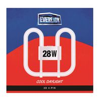 Eveready Flourescent Tube 28W 2D (4 pin)(Pack of 2)