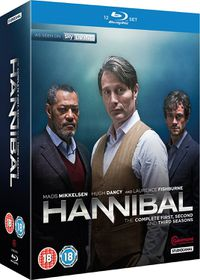 Hannibal Series 1-3 (Blu-ray)
