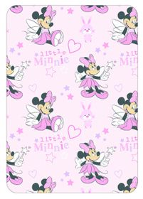 Disney - Minnie Mouse Coral Fleece Throw