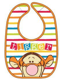 Disney - Tigger Jersey Bib
