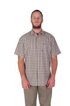 Wildway Men's Casual Shirts - Brown