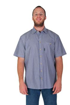 Wildway Men's Casual Shirts - Navy