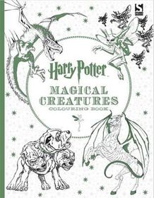 Harry Potter Colouring Book Magical Creatures