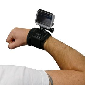 Jivo Go Gear Cuff- Wrist Mount for Action Cameras