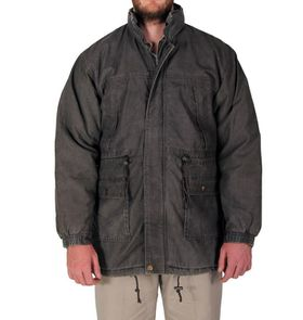 Wildway Men's Multi Pocket Jacket - Brown