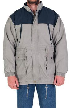 Wildway Men's Multi Pocket Jacket - Stone Navy