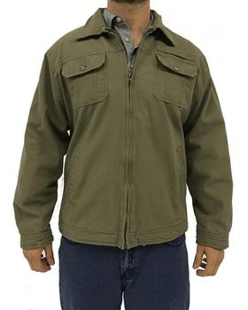 Wildway Men's Fleece-lined Jacket - Taupe