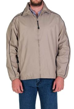 Restless Men's Piped Jacket - Stone