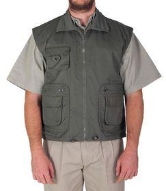 Wildway Men's Reversible Fishing Jacket - Olive