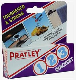 Pratley - 1-2-3 15ml Quickset Adhesive
