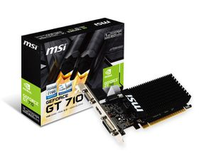 MSI Geforce GT 710 Graphics Card - 1GB