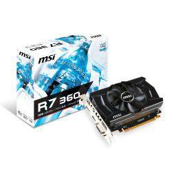 MSI AMD Radeon R7 360 OC 2048MB DDR5 125bit