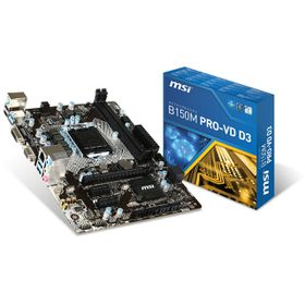 MSI Intel B150M PRO-VH Mainboard - Socket LGA1151