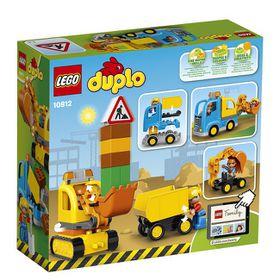 LEGO Duplo Tow Truck & Tracked Excavator