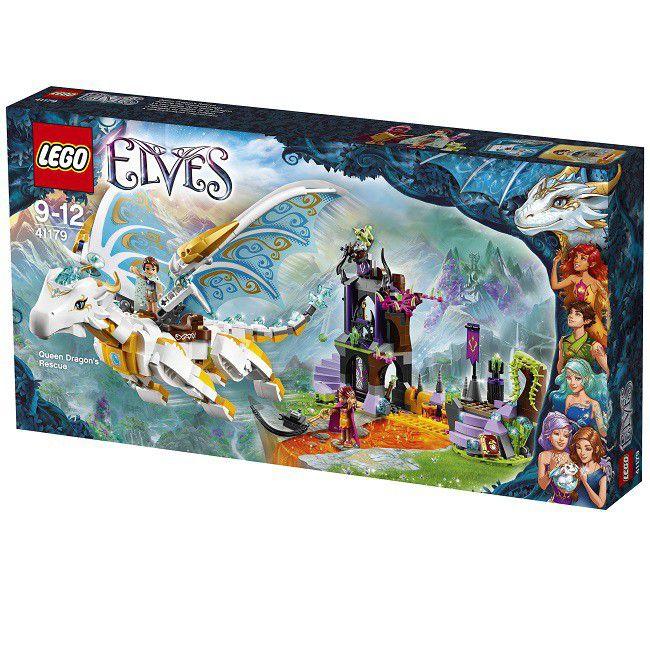 Lego Elves Queen Dragon's Rescue   Buy Online in South Africa ...
