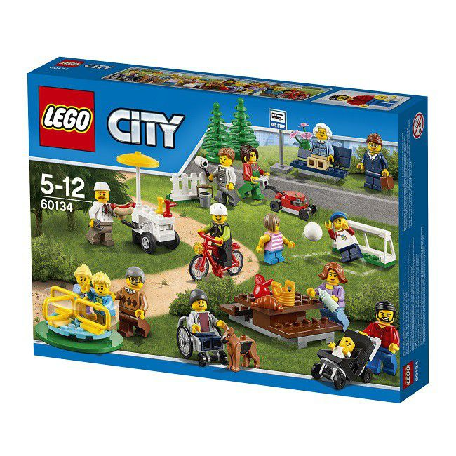 Lego City Town Fun In The Park - City People Pack | Buy Online in ...