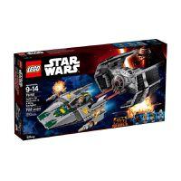 LEGO Star Wars Vader's Tie Advanced vs. A-Wing Starfight